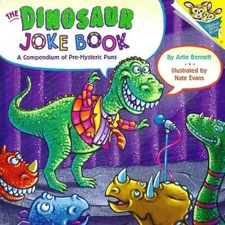 book cover of Dinosaur Joke Book