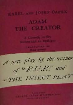 book cover of Adam The Creator