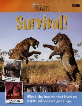 book cover of Walking with Beasts: Survival!