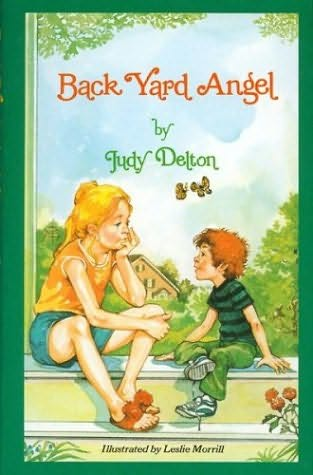 book cover of Back Yard Angel