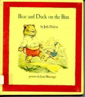 book cover of Bear and Duck On the Run