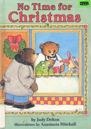 book cover of No Time for Christmas