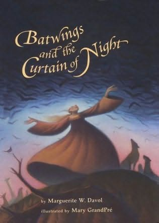 book cover of Batwings and the Curtain of Night