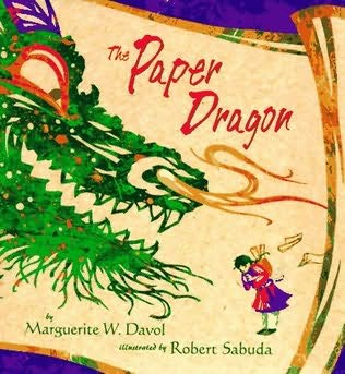 book cover of The Paper Dragon
