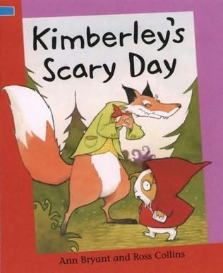 book cover of Kimberley\'s Scary Day