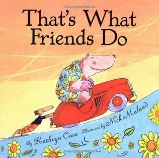 book cover of That\'s What Friends Do