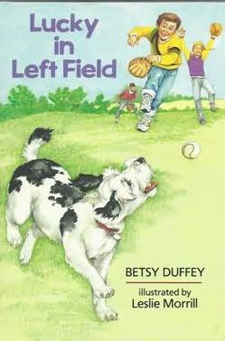 book cover of Lucky in Left Field