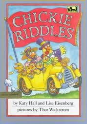 book cover of Chickie Riddles