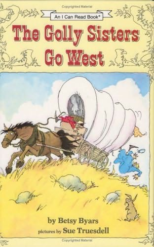book cover of The Golly Sisters Go West