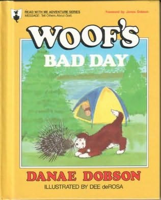 book cover of Woof\'s Bad Day