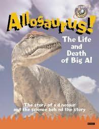 book cover of Allosaurus!