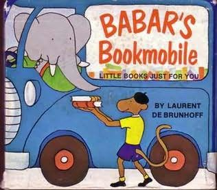 book cover of Babar\'s Bookmobile