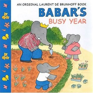 book cover of Babar\'s Busy Year