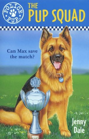 book cover of The Pup Squad