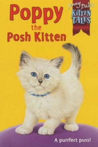 book cover of Poppy the Posh Kitten