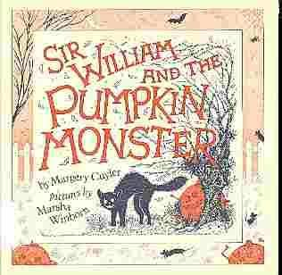 book cover of Sir William and the Pumpkin Monster