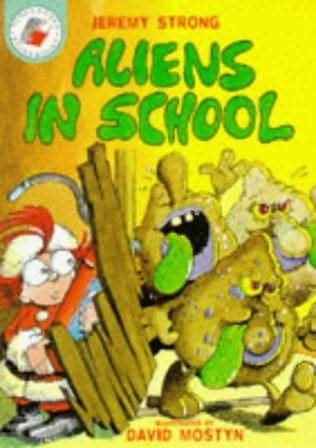 book cover of Aliens in School