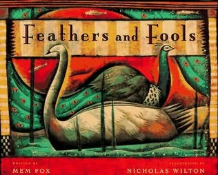 book cover of Feathers and Fools