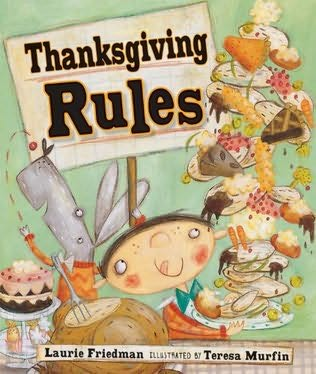 book cover of Thanksgiving Rules
