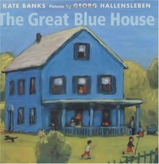 book cover of The Great Blue House