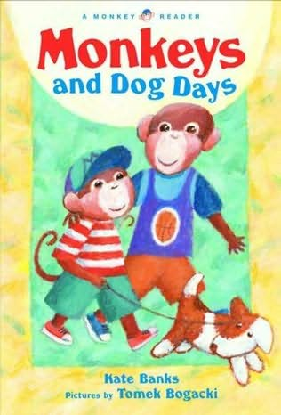 book cover of Monkeys and Dog Days