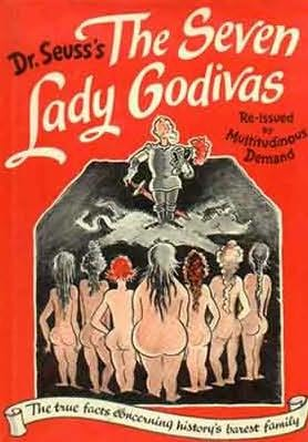 book cover of The Seven Lady Godivas