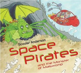 book cover of Space Pirates and the Monster of Malswomp