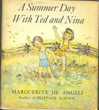 book cover of A Summer Day with Ted and Nina