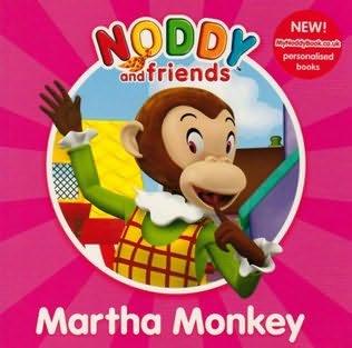 book cover of Martha Monkey
