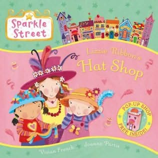 book cover of LIzzie Ribbon\'s Hat Shop