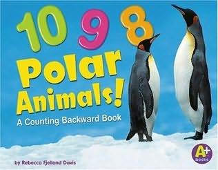 book cover of 10, 9, 8 Polar Animals!