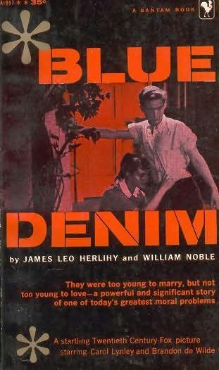 book cover of Blue Denim