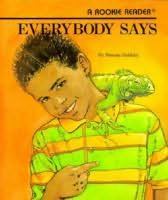 book cover of Everybody Says