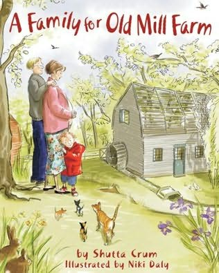book cover of A Family for Old Mill Farm