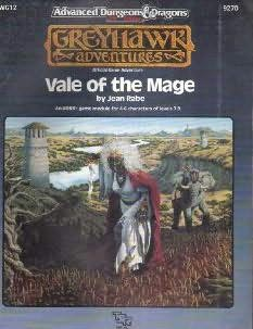 book cover of Vale of the Mage
