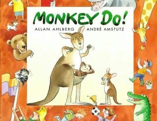 book cover of Monkey Do!