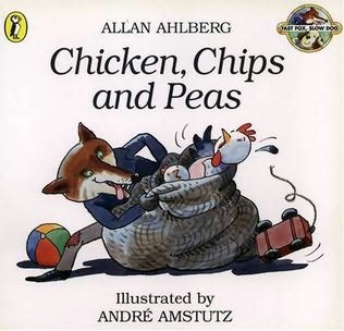 book cover of Chicken, Chips and Peas