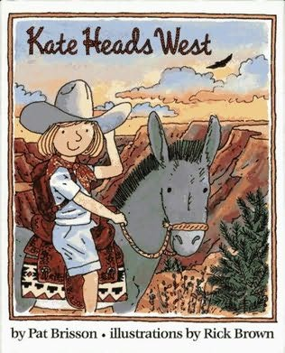 book cover of Kate Heads West