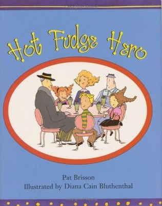 book cover of Hot Fudge Hero