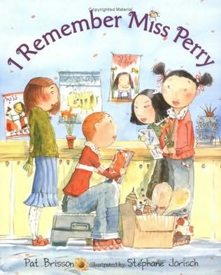 book cover of I Remember Miss Perry