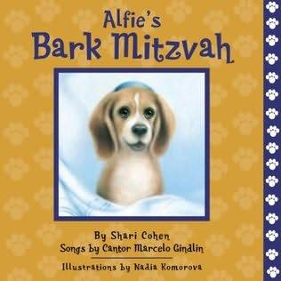 book cover of Alfie\'s Bark Mitzvah