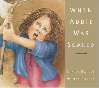 book cover of When Addie Was Scared