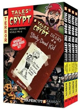 book cover of Tales from the Crypt Boxed Set: Vol 5 - 8