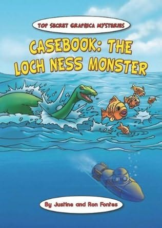 book cover of Casebook: The Loch Ness Monster