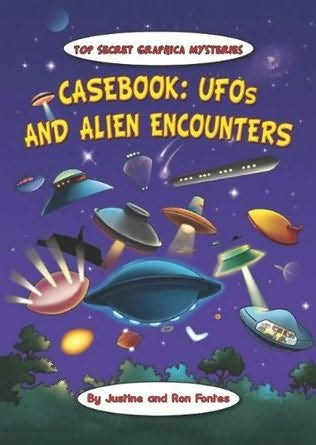 book cover of Casebook: UFOs And Alien Encounters