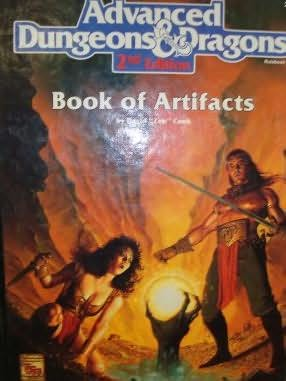 book cover of Book of Artifacts