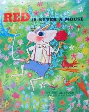 book cover of Red is Never a Mouse