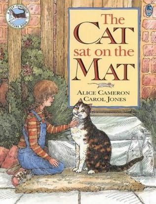 book cover of The Cat Sat On the Mat