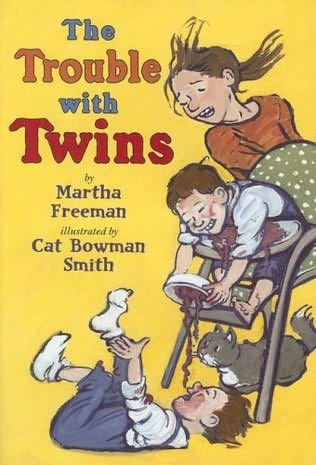 book cover of The Trouble with Twins