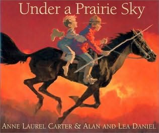 book cover of Under a Prairie Sky